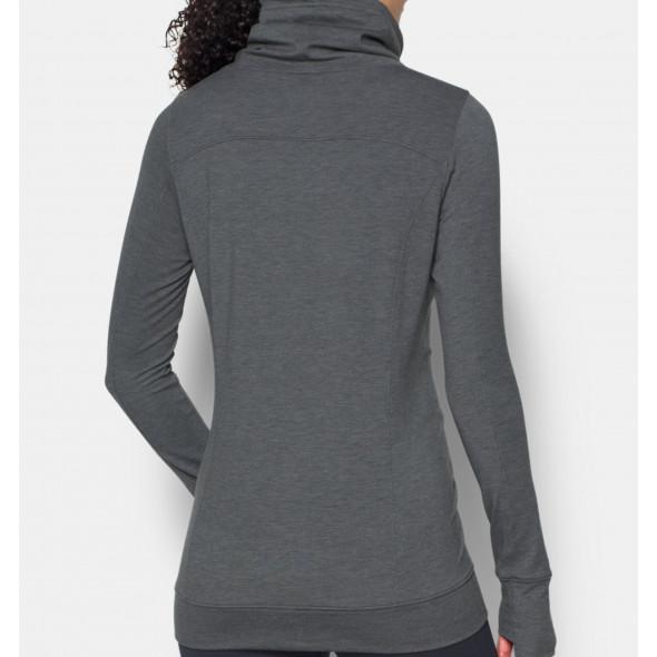 Sweatshirt Femme Under Armour Featherweight - Gris