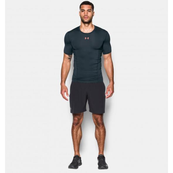 T-shirt Compression Under Armour HeatGear® SuperVent Armour - Gris