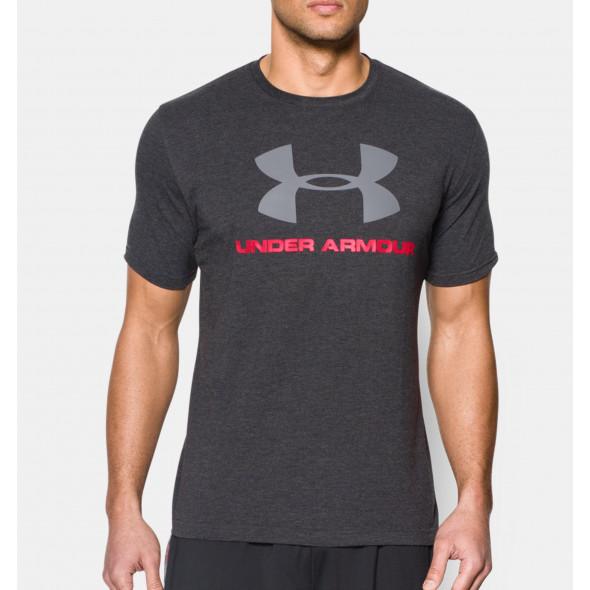 T-shirt Under Armour Sportstyle Logo - Noir