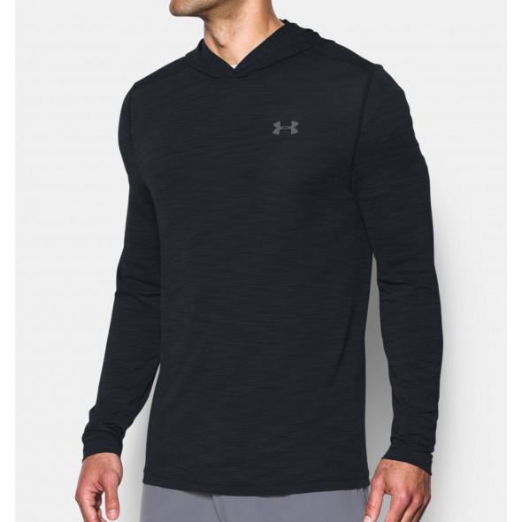 Sweatshirt à capuche Under Armour Threadborne Seamless Fleece - Noir