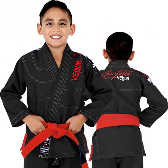 Venum Challenger 2.0 Kids BJJ Gi - Black