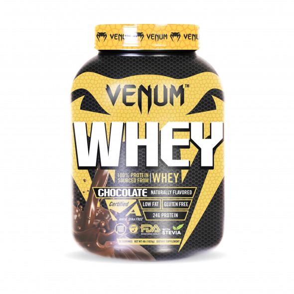 Venum Whey Protein - 4lb - 52 Servings - Chocolate