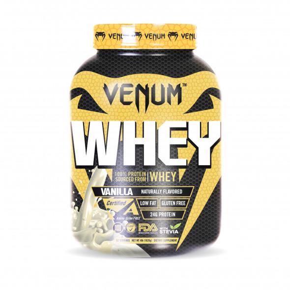 Venum Whey Protein - 4lb - 52 Servings - Vanilla
