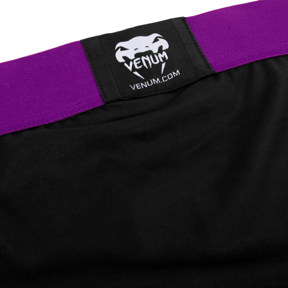 Venum Rapid Vale Tudo Shorts - Black/Purple