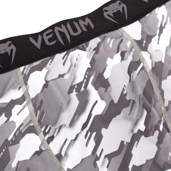 Venum Tecmo Vale Tudo Shorts - Black/Grey
