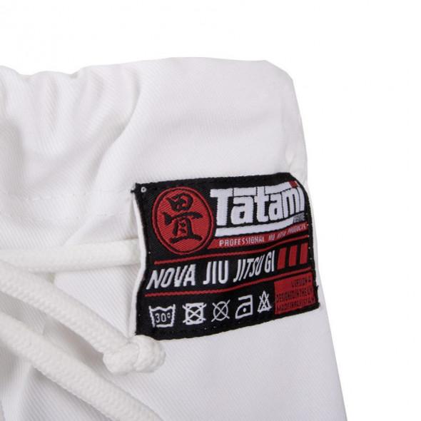 Kimono de JJB Tatami Fightwear Nova MK4 - Blanc - Ceinture blanche incluse