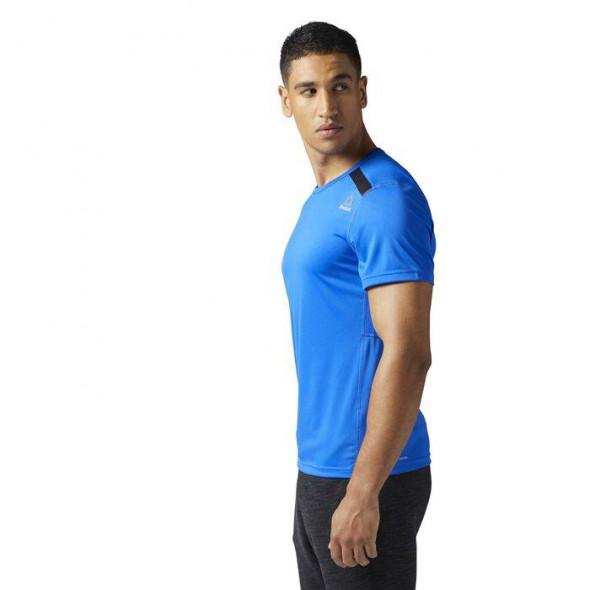 T-shirt Reebok Workout Tech Top - Bleu