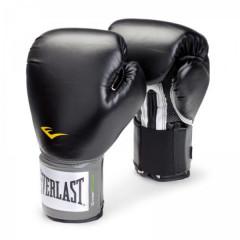 Gants de Boxe Everlast Velcro Pro Style TRNG - Noir