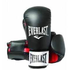 Gants de Boxe Everlast Rodney - Noir/Rouge