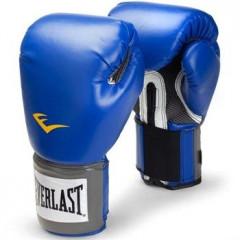 Gants de Boxe Everlast Velcro Pro Style TRNG - Bleu