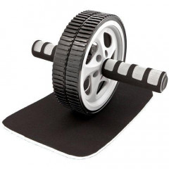 Luxury Double exercise wheel + Tunturi Mat