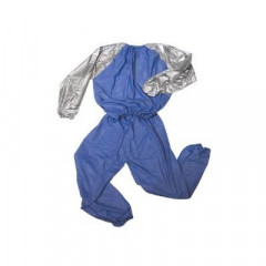 Combinaison de sudation Metal Boxe Sauna suits - Blue/Grey