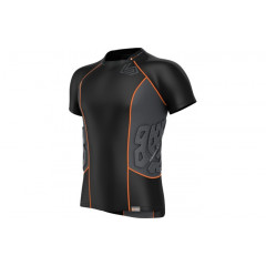 Shock Doctor  Compression T-shirt 3 protections - Black