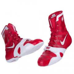 "Chaussures de boxe Nike semi-montantes ""HyperKo"" - Red/White"