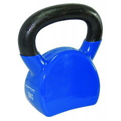 Kettlebell vinyle 12 kg Tunturi - Bleu