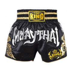 Top King  Short Muay Thai - Black