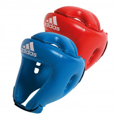 Molded boxing headgear