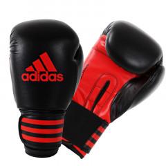 Gants de boxe Power 100 Adidas - Noir/Rouge