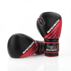 Gants de Boxe Bad Boy Training Series Impact - Noir/Rouge