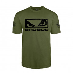 T-Shirt Bad Boy Walkout Prime - Vert/Noir