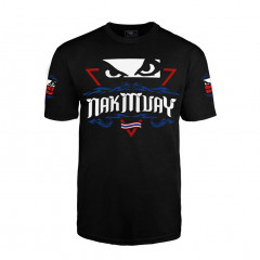 T-shirt Bad Boy Nak Muay - Noir