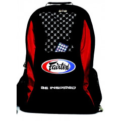 "Fairtex  Backpack ""BAG4"" - Black / Red"