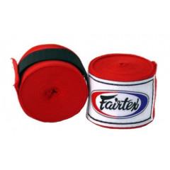 Bandes de Boxe Fairtex - Rouge - 4 m