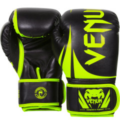 Venum Challenger 2.0 Boxing Gloves - Neo Yellow/Black
