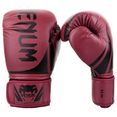 Venum Challenger 2.0 Boxing Gloves - Red Wine/Black