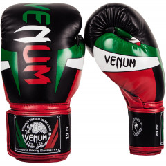 Venum Elite Mexique Boxing Gloves - Black