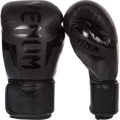 Venum Elite Boxing Gloves - Neo Matte/Black