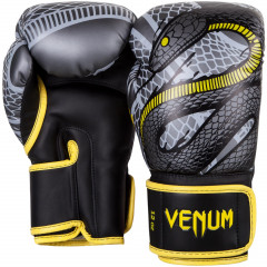 Venum Snaker Boxing Gloves - Limited Edition- Black/Grey