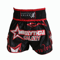 Short Muay Thai Galaxy Black Eye