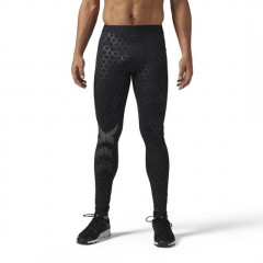 Pantalon de compression Reebok Hex Reflective Tight