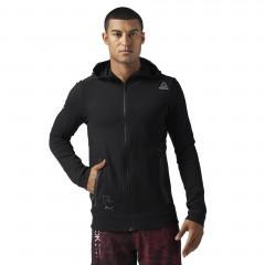 Reebok Combat Tech full-zip Sweatshirt - Black
