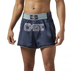 Short de Muay Thai Reebok Combat - Bleu