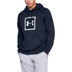 Sweat à capuche Under Armour Rival Fleece Logo - Bleu Marine