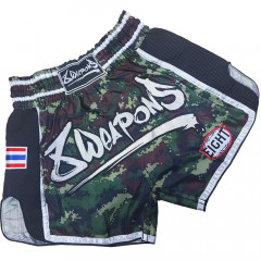 Short Muay Thai 8Weapons Super Mesh Camo