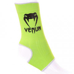 "Venum ""Kontact"" Ankle Support Guard - Muay Thai / Kick Boxing - Neo Yellow"