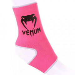 "Venum ""Kontact"" Ankle Support Guard - Muay Thai / Kick Boxing - Pink"