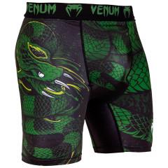 Venum Green Viper Compression Shorts - Black/Green
