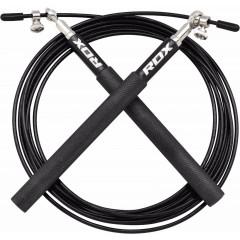 Corde à sauter en acier RDX Sports - Noir
