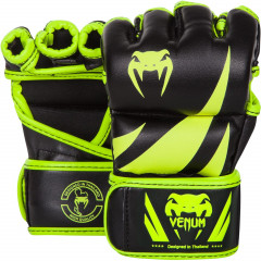 Venum Challenger MMA Gloves - Neo Yellow/Black