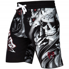Venum Samurai Skull Training Shorts - Black