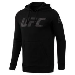 Sweat à capuche Reebok avec motif UFC - Noir