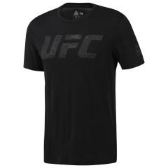 T-shirt Reebok avec logo UFC - Noir