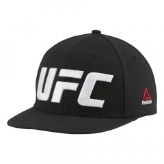 Casquette Reebok UFC Flat Peak - Noir