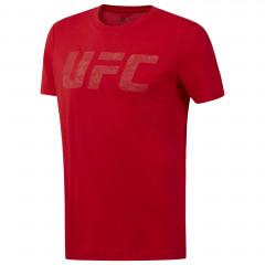 T-shirt Reebok avec logo UFC - Rouge