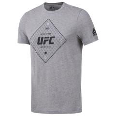 T-shirt Reebok avec motif UFC - Gris