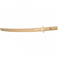 Kodachi - oak - white with tsuba